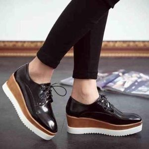 Shoes - Shiny Black Oxford Creepers